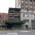 Chelsea building defaced by Sandy