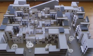 Model of housing complex set up through useful and appropriate guidelines