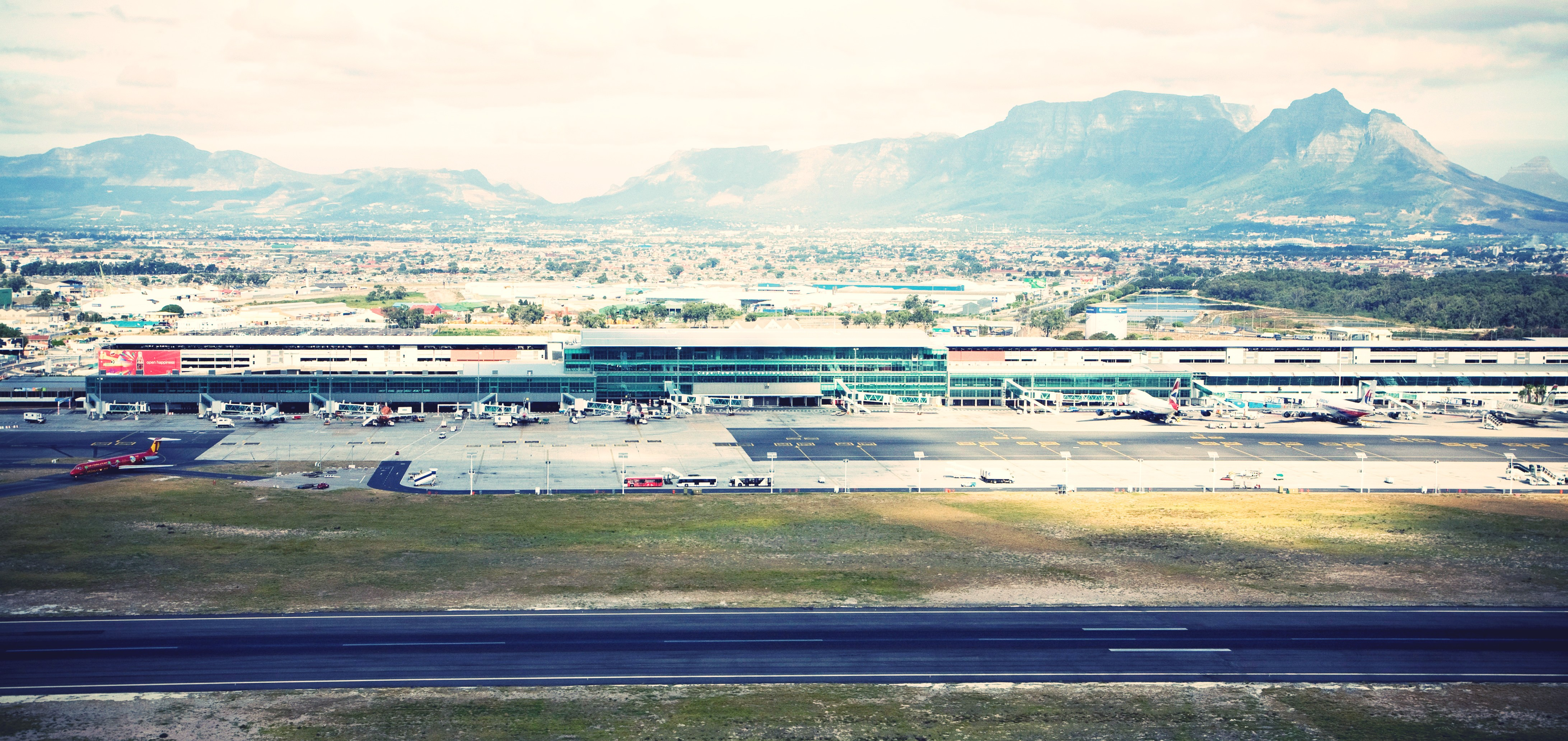 Cape Town Internation Airport Runway 2