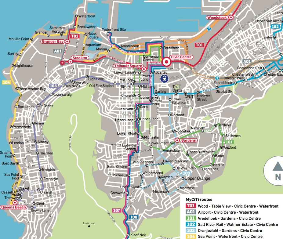 Buses every 10 minutes on new MyCiTi bus routes Future Cape Town