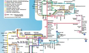 The MyCiTi system as at 14 December 2013.