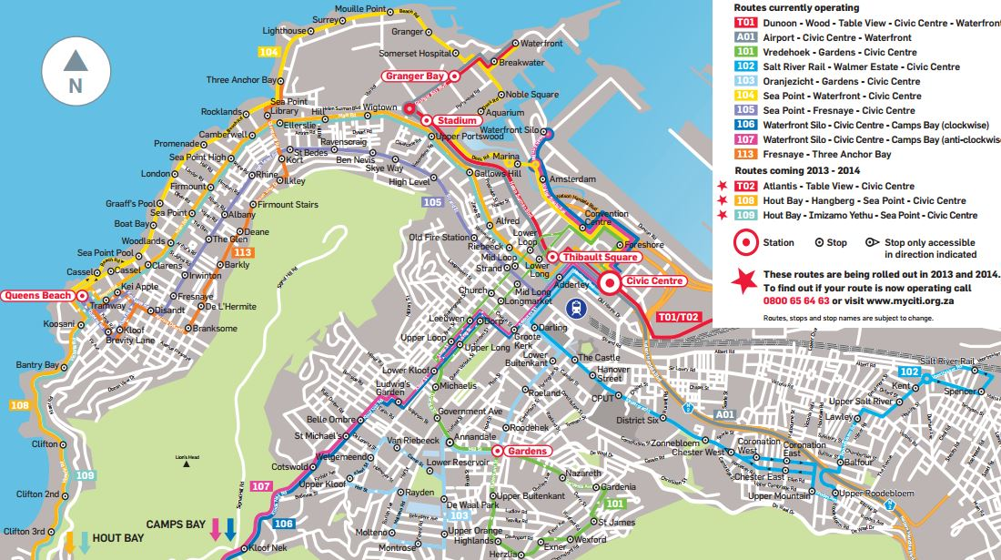 New Bus Route to Hout Bay Future Cape Town