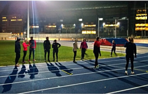 5. NBRO running at Østerbro Stadium. Photo NBRO