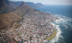 Sea Point Aerial View