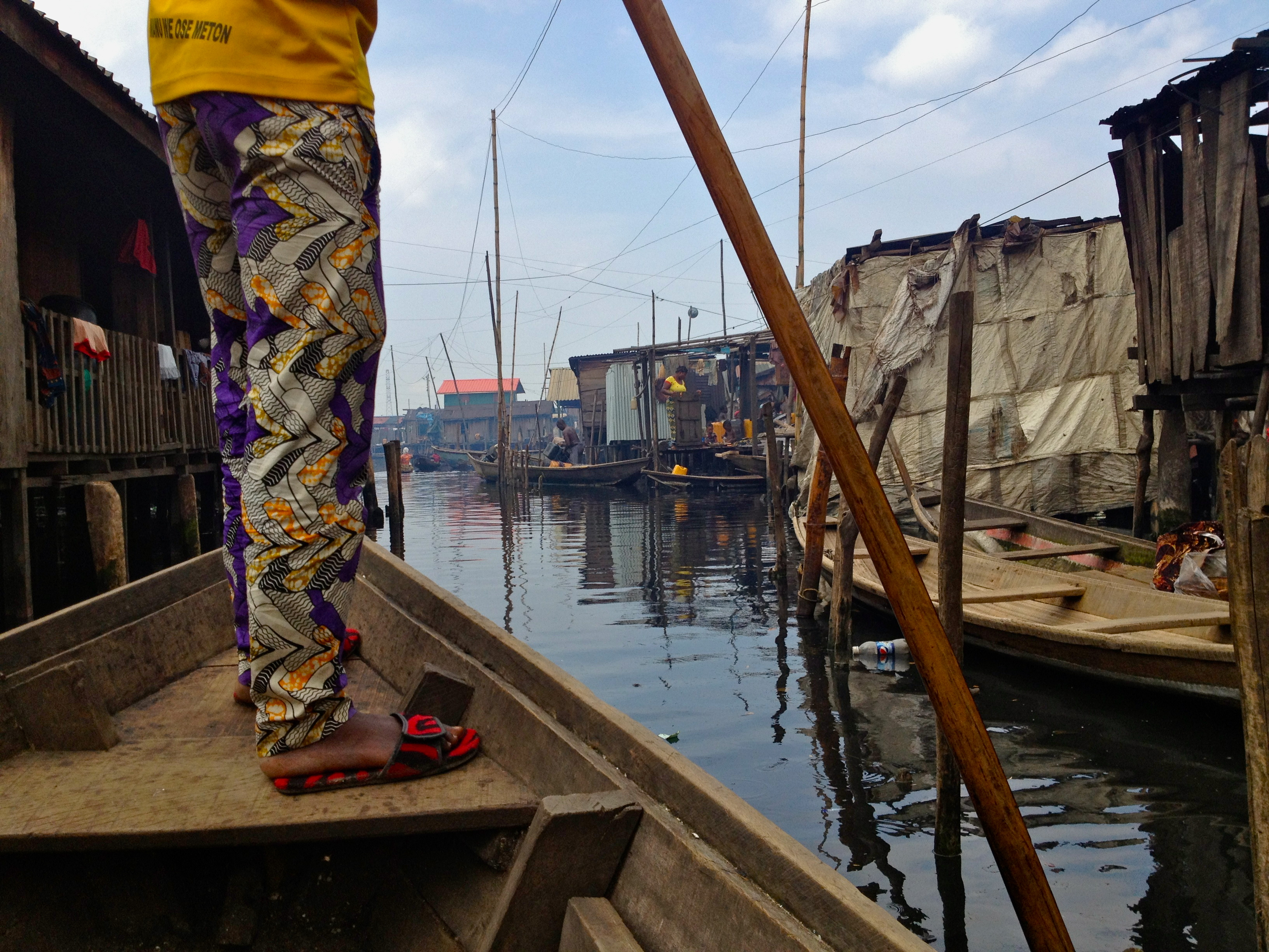 Going through Makoko Image: Authors own