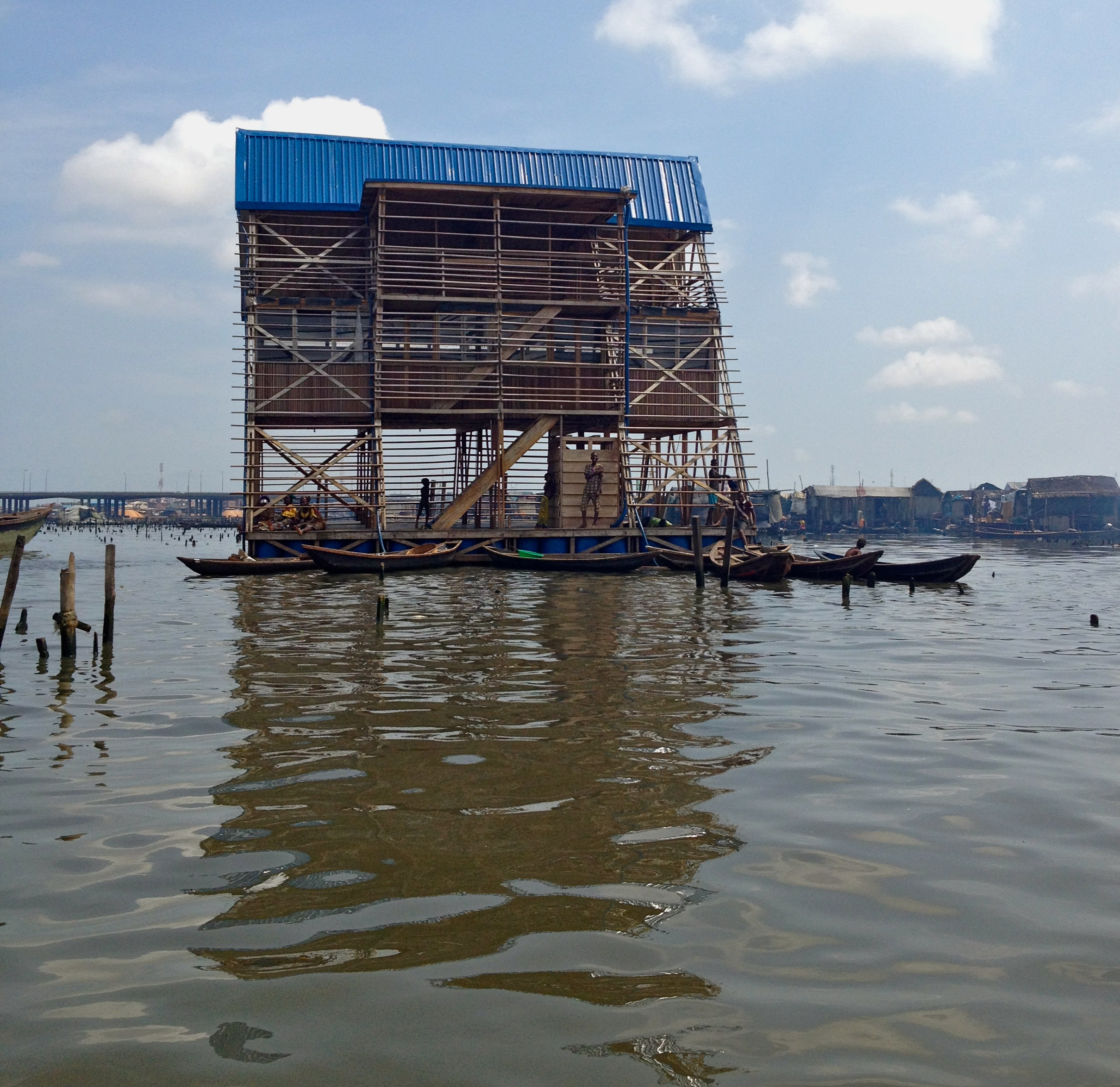 Makoko Floating School Image: Authors own