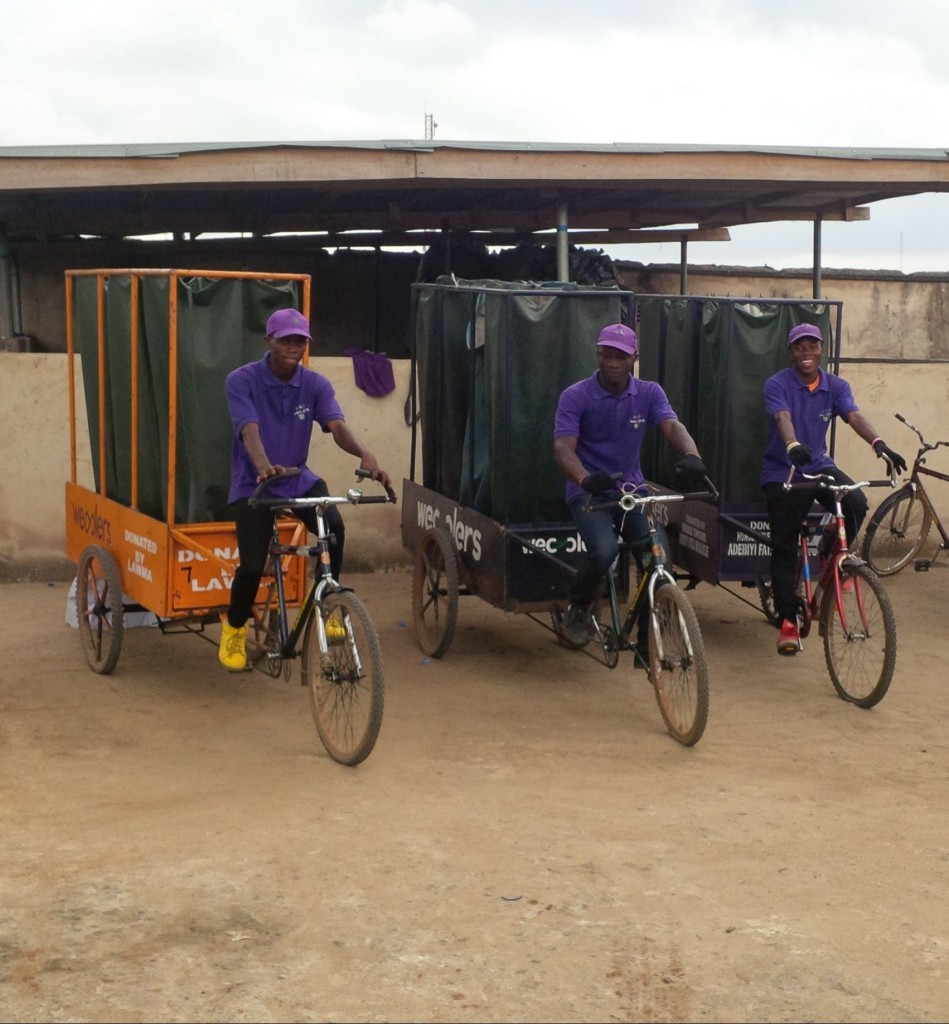 Wecycles in Action Image: Wecyclers