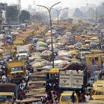 Lagos battles traffic in a unique way