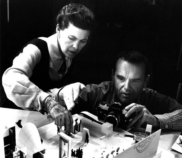 Charles and Ray Eames - (designapplause.com)