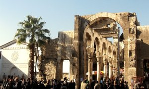 The Jupiter Temple in Damascus Source: wikimedia.org