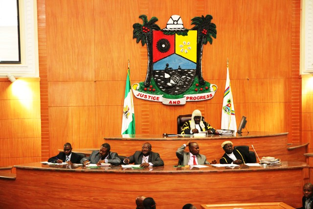 Lagos State House of Assembly Source: www.lagoshouseofassembly.gov.ng