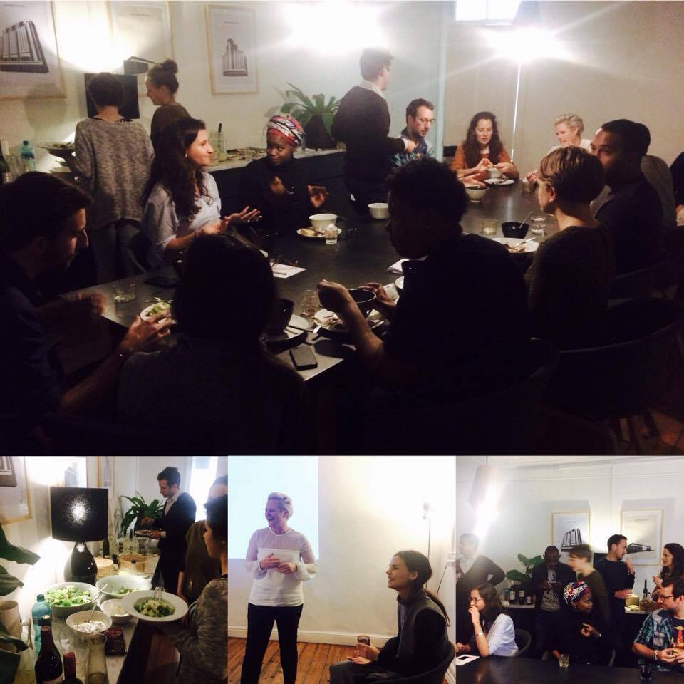 Young Urbanists Dinner Winter 4.0 2016