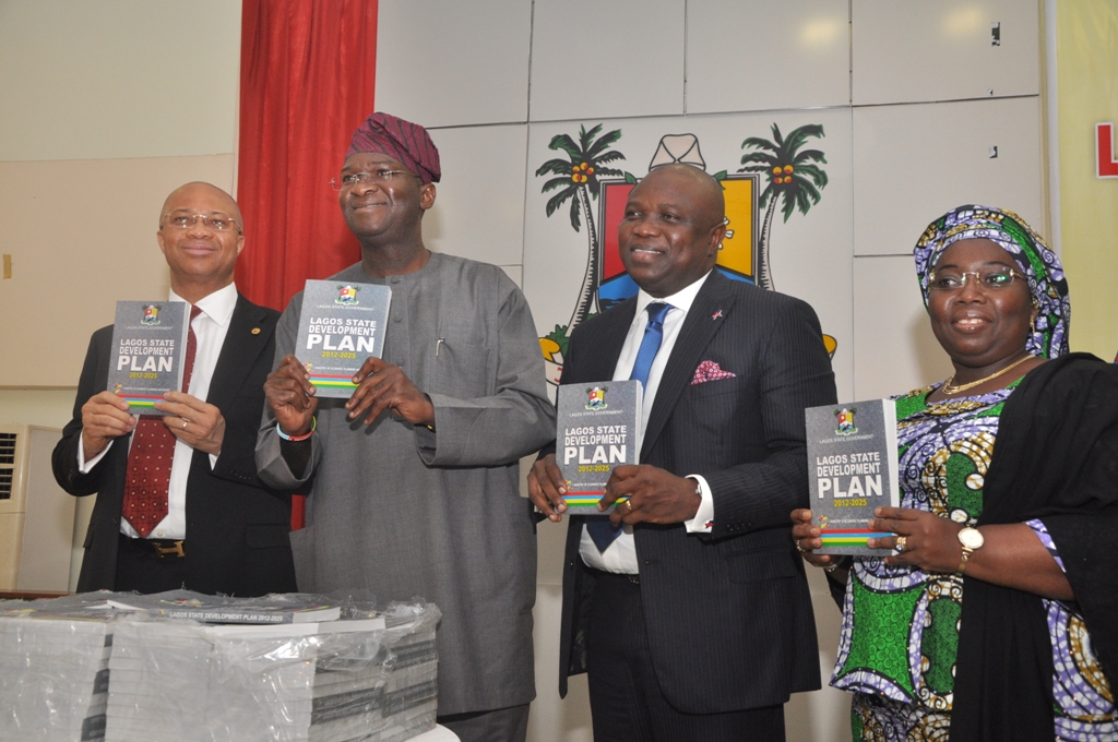 Ambode at the Presentation OF Lagos State Development Plan 2012-2025 Source: akinwunmiambode.com