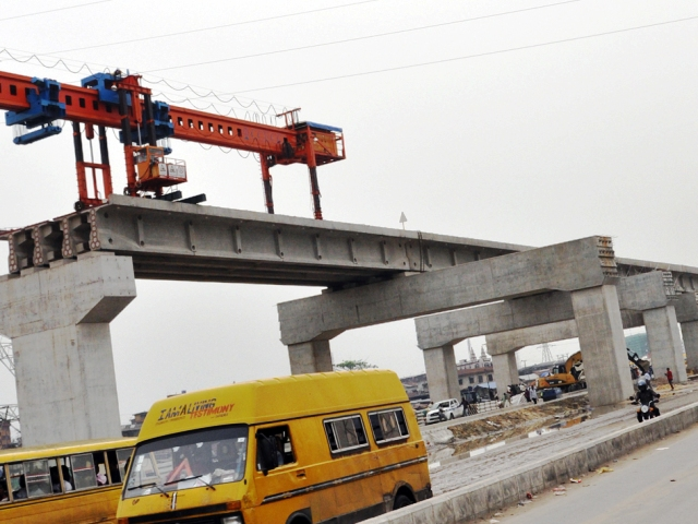 Construction of Lagos Light Rail