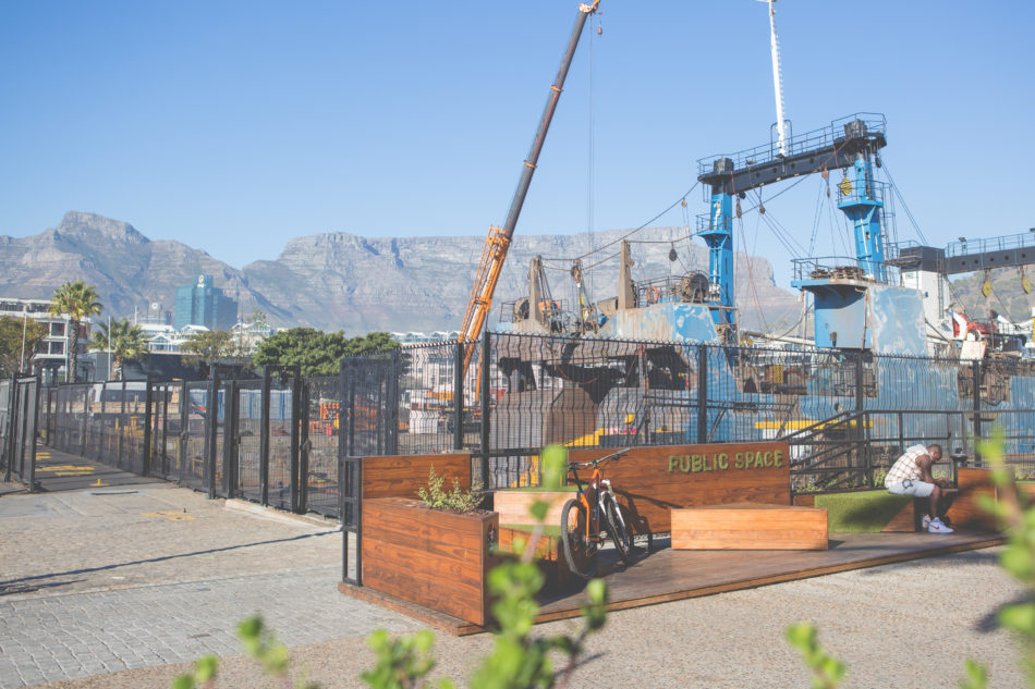 The parklet urban intervention : From Sea Point to the V&A Waterfront
