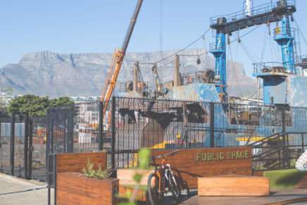 Regent Road parklet finds a new home at the V&A Waterfront