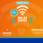 In March 2016 the Western Cape government launched the first 50 of 384 planned public access Wi-Fi hotspots.
