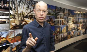 Cape Town 160412 City Life feature.  Urban planner Guy Briggs at DHK Architects in Green Point.  Story by Michael Morris.    Photo by Michael Walker