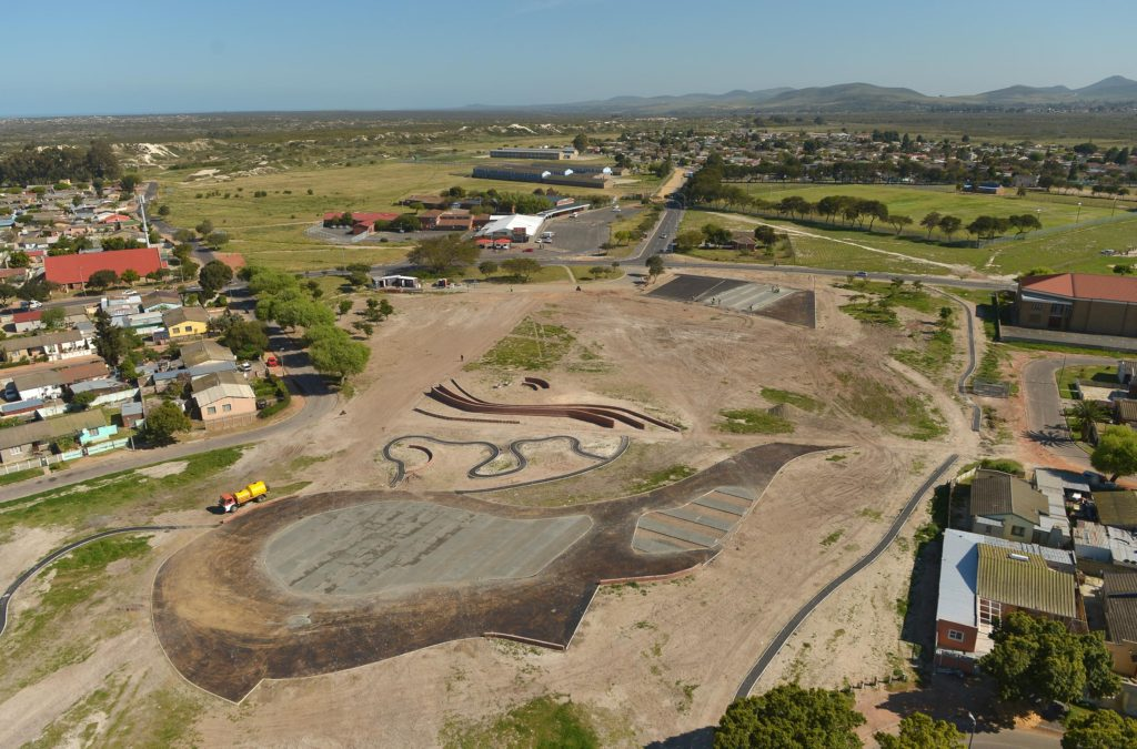 Atlantis Smart Park construction in Saxonsea area- City of Cape town smart park