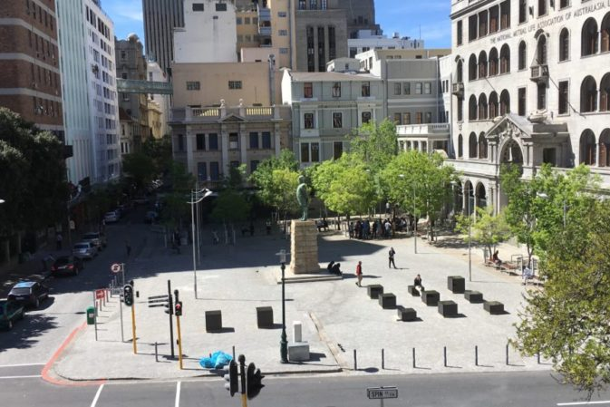 Open Call : Ideas for the water crisis at Church Square's new pop-up park